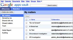 GoogleVault